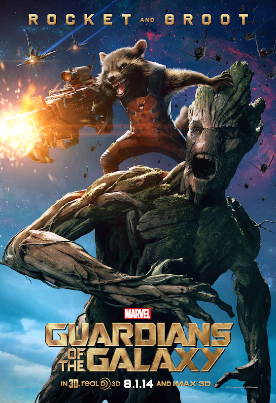 Guardians of the Galaxy Rocket and Groot Poster