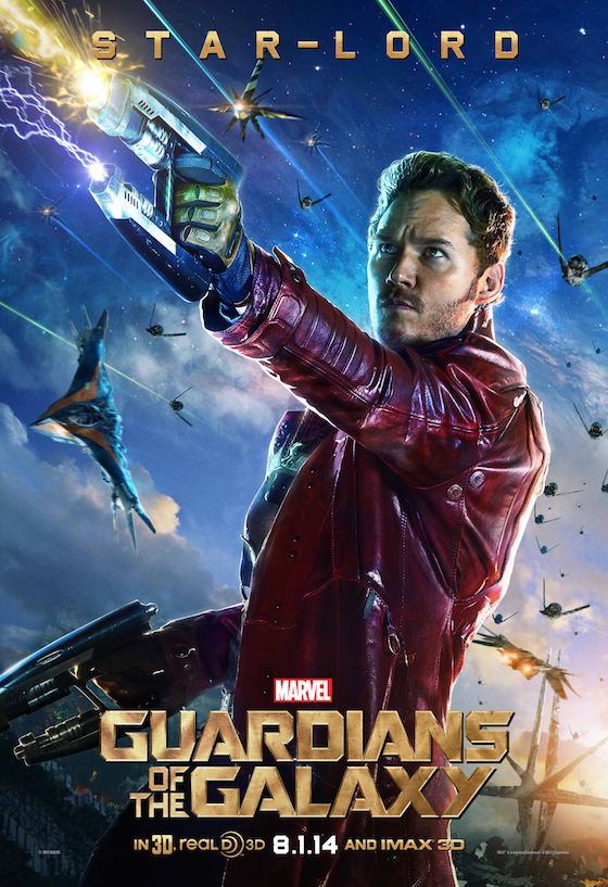 Guardians of the Galaxy Starlord Poster