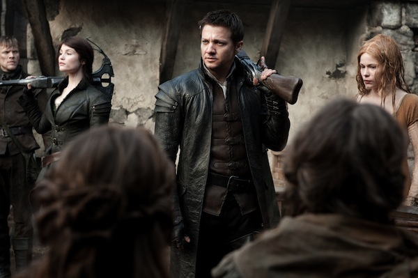 Jeremy Renner and Gemma Arterton in Hansel & Gretel Witch Hunters