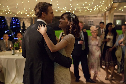Rafe Spall and Rose Byrne in I GIVE IT A YEAR, a Magnolia Pictures release. Photo courtesy of Magnolia Pictures.