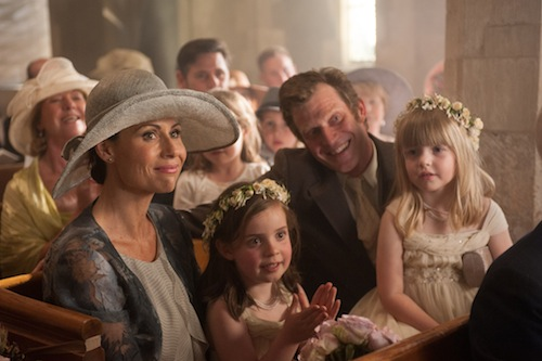 Minnie Driver and Jason Flemyng in I GIVE IT A YEAR, a Magnolia Pictures release. Photo courtesy of Magnolia Pictures.