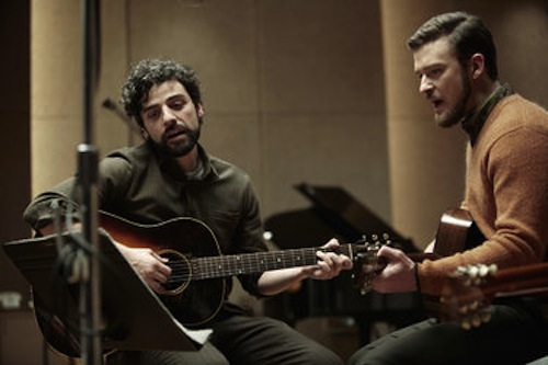 Oscar Isaac and Justin Timberlake in Inside Llewyn Davis. 2013 CBS Films.