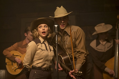 Elizabeth Olsen and Tom Hiddleston in I Saw the Light.  Photo courtesy Sony Pictures Classics.