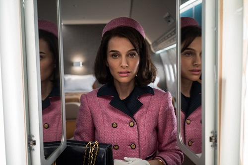 Natalie Portman in Jackie. Photo by Stephanie Branchu, courtesy Fox Searchlight Pictures 2016, All Rights Reserved.