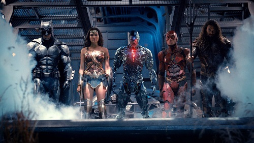 Justice League, photo courtesy DC Entertainment/Warner Bros. 2017.