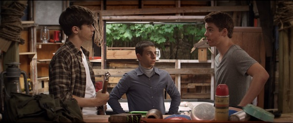 Nick Robinson, Moises Arias and Gabriel Basso, star in CBS Films' upcoming release THE KINGS OF SUMMER. Photo credit: Julie Hahn