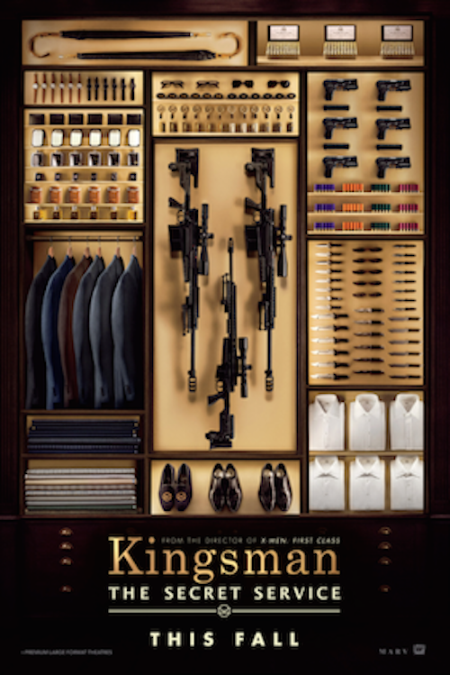 Kingsman: The Secret Service Poster (1)