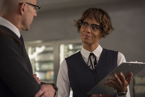 Halle Berry stars in Twentieth Century Fox's Kingsman: The Golden Circle, also starring Colin Firth, Julianne Moore, Taron Egerton, Mark Strong, Elton John, Channing Tatum and Jeff Bridges. Photo Credit: Giles Keyte, 2017 Twentieth Century Fox Film Corporation. All Rights Reserved.
