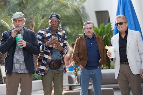 Michael Douglas, Robert De Niro, Morgan Freeman & Kevin Kline star in Last Vegas