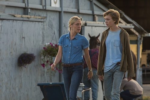 Chloë Sevigny and Charlie Plummer in Lean On Pete, photo by Scott Patrick Green, courtesy of A24.