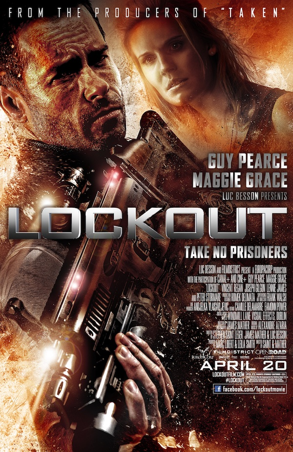 Lockout, from Luc Besson, Poster