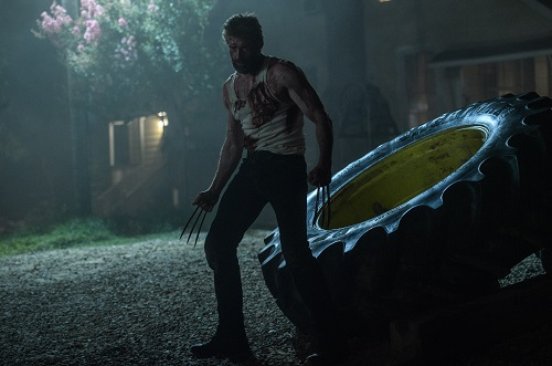 Hugh Jackman as Logan/Wolverine in LOGAN. Photo Credit: Ben Rothstein. Courtesy Marvel and Twentieth Century Fox Film Corporation, All rights reserved.