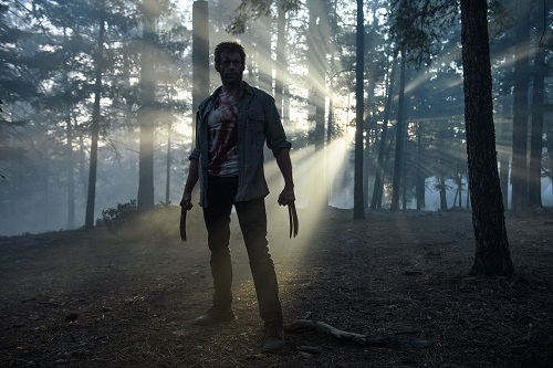 Hugh Jackman stars as Logan/Wolverine in LOGAN. Photo Credit: Ben Rothstein. Courtesy Marvel and Twentieth Century Fox Film Corporation, All rights reserved.