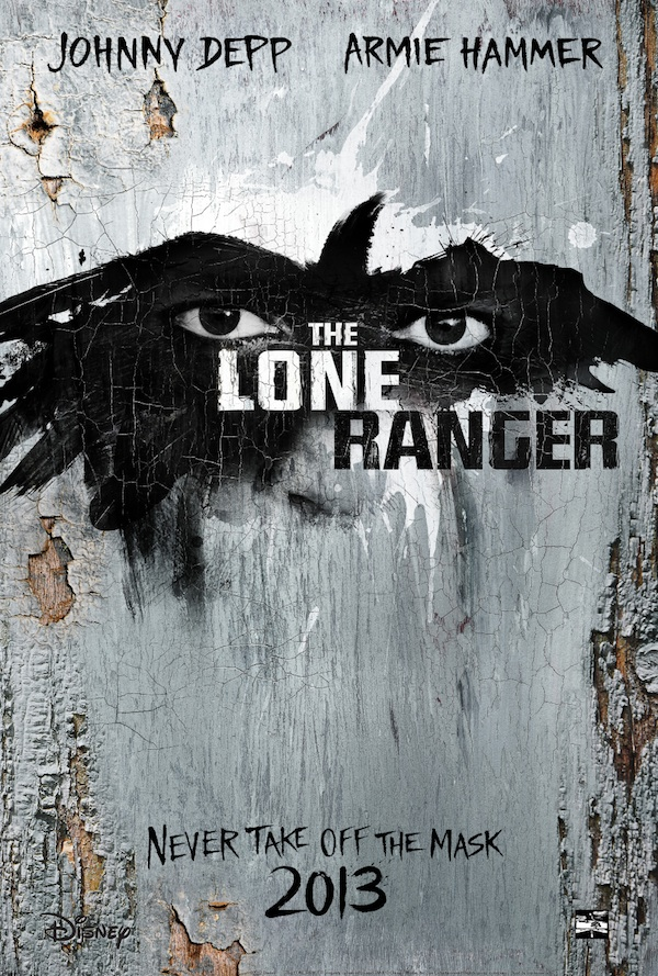 Teaser Poster for The Lone Ranger
