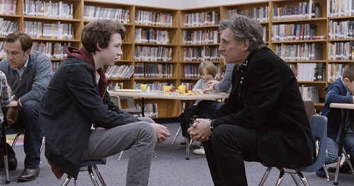 Devin Druid and Gabriel Byrne in Louder than Bombs, photo courtesy The Orchard.