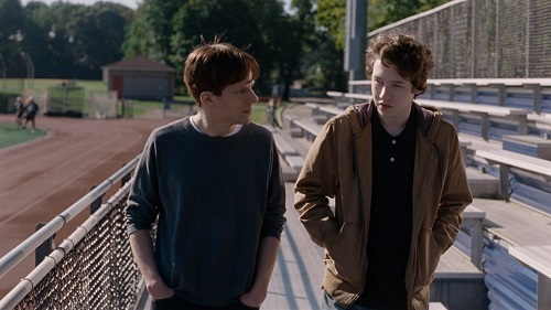 Jesse Eisenberg and Devon Druid in Louder than Bombs, photo courtesy The Orchard.