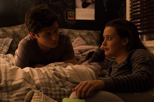 Nick Robinson (Simon) and Katherine Langford (Leah) star in Twentieth Century Fox's LOVE, SIMON. © 2017 Twentieth Century Fox Film Corporation. All Rights Reserved. Photo Credit: Ben Rothstein.