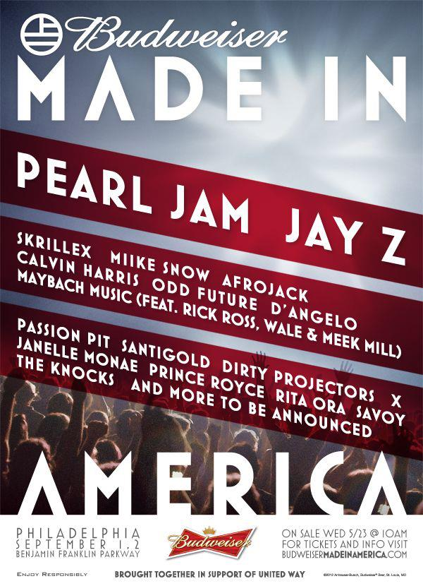Made In America Music Festival
