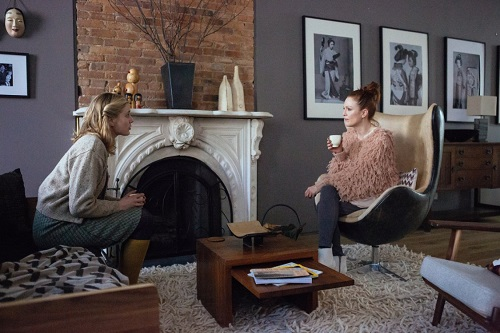 Julianne Moore and Greta Gerwig in Maggie's Plan.  Photo courtesy Sony Pictures Classics.