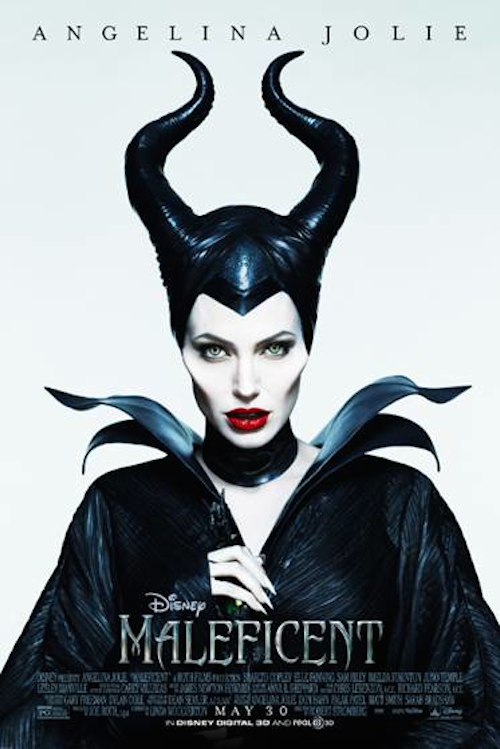Angelina Jolie, Maleficent Poster