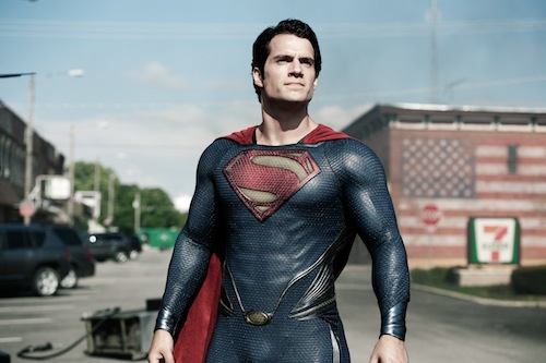 HENRY CAVILL as Superman in Warner Bros. Pictures' and Legendary Pictures' action adventure MAN OF STEEL, a Warner Bros. Pictures release. TM and © DC Comics. Photo by Clay Enos