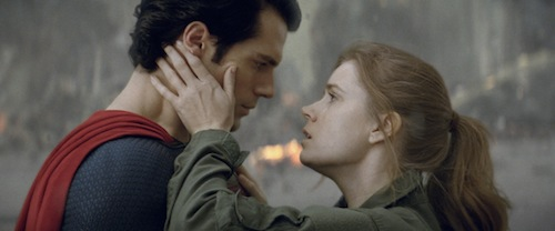 HENRY CAVILL as Superman and AMY ADAMS as Lois Lane in Warner Bros. Pictures' and Legendary Pictures' action adventure MAN OF STEEL, a Warner Bros. Pictures release. TM and © DC Comics. Photo courtesy of Warner Bros. Pictures