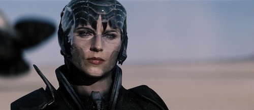 ANTJE TRAUE as Faora-Ul in Warner Bros. Pictures' and Legendary Pictures' action adventure MAN OF STEEL, a Warner Bros. Pictures release. TM and © DC Comics. Photo courtesy of Warner Bros. Pictures