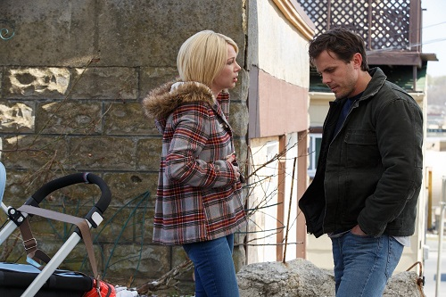 Michelle Williams and Casey Affleck in MANCHESTER BY THE SEA, photo courtesy Roadside Attractions/Amazon 2016 All rights reserved.