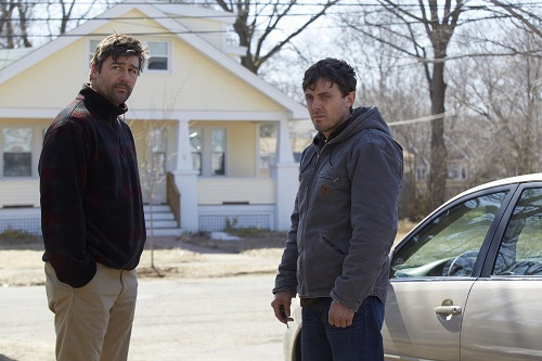Kyle Chandler and Casey Affleck in MANCHESTER BY THE SEA, photo courtesy Roadside Attractions/Amazon 2016 All rights reserved.
