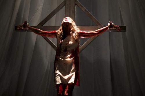 Troian Bellisario as Lucie in the action horror film MARTYRS, an Anchor Bay Entertainment release. Photo courtesy of Anchor Bay Entertainment.