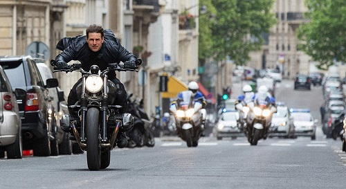 Mission: Impossible - Fallout, image courtesy Bad Robot/Paramount Pictures.