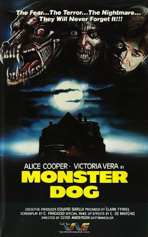 Monster Dog One Sheet