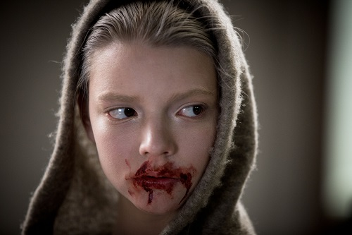 Morgan (Anya Taylor-Joy) has intriguing and conflicting traits: she is seemingly innocent and exhibits child-like qualities, but can also be violent and dangerous. Photo Credit: Aidan Monaghan, courtesy of Twentieth Century Fox Film Corporation. All Rights Reserved.
