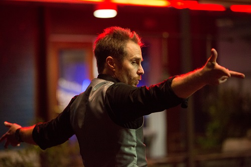 Sam Rockwell as Francis/ Mr. Right in the action comedy