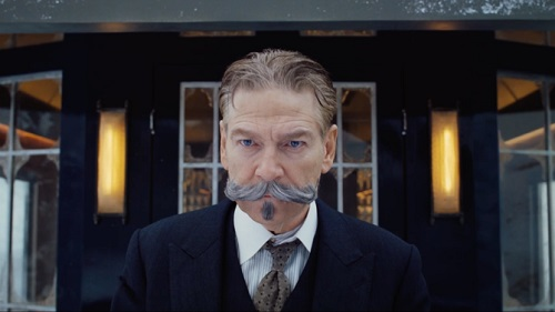 Kenneth Branagh stars in Twentieth Century Fox's Murder on the Orient Express. Photo by Nicola Dove.