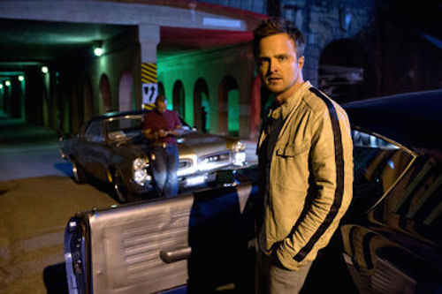 Aaron Paul in Need For Speed. 2014 Melissa Sue Gordon / DreamWorks II Distribution Co.