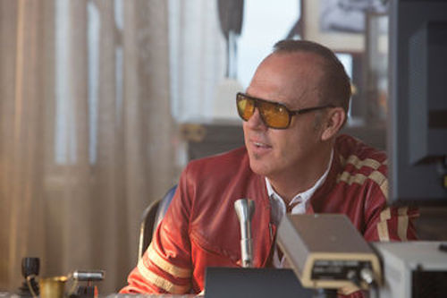 Michael Keaton as Monarch in Need For Speed. 2014 Melissa Sue Gordon / DreamWorks II Distribution Co.