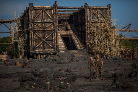 The ark in 'Noah'