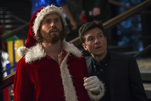 L-R: T.J. Miller as Clay Vanstone, Jason Bateman as Josh Parker in OFFICE CHRISTMAS PARTY by Paramount Pictures, DreamWorks Pictures, and Reliance Entertainment. Photo Credit: Glen Wilson © 2016 PARAMOUNT PICTURES. ALL RIGHTS RESERVED.