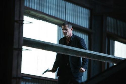 Josh Brolin in Oldboy. 2013 Hilary Bronwyn Gayle / FilmDistrict.
