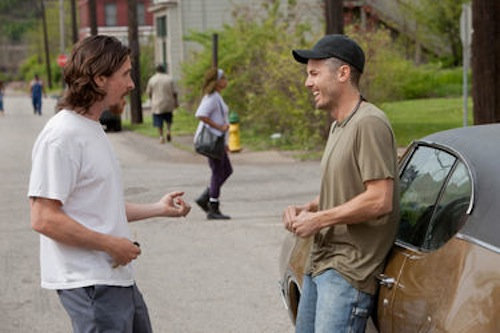 Christian Bale and Casey Affleck in Out of the Furnace. 2013 Relativity Media.