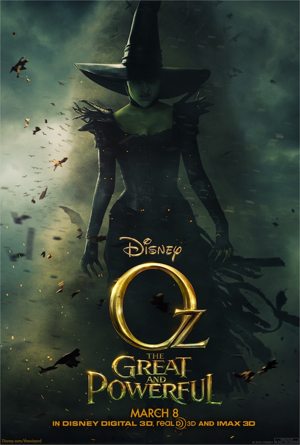 Oz The Great and Powerful Wicked Witch Poster 2