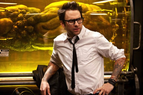Charlie Day in Pacific Rim, 2013 Warner Bros. Pictures.