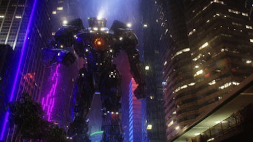 A scene from Pacific Rim. 2013 Warner Bros. Pictures.
