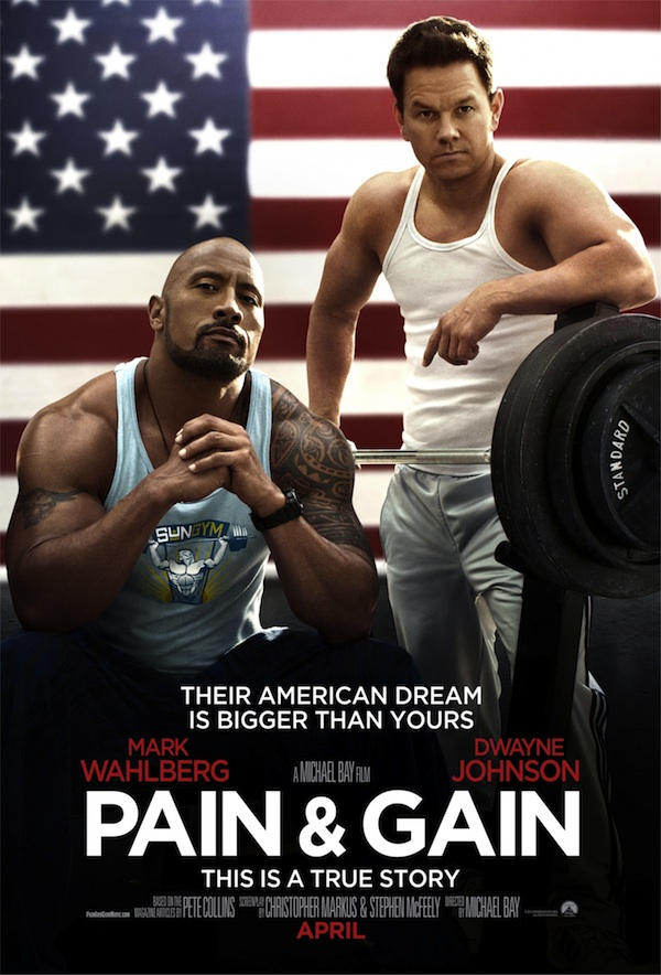 Pain & Gain, starring Dwayne