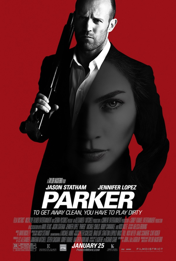 "Jennifer	   Lopez	   as	   ""Leslie""	   and	   Jason	   Statham	   as	   ""Parker""	   in	   Film	   District's	   adaptation	   of	   Donald	    E.	   Westlake's	   best-­‐selling	   Parker	   novels."