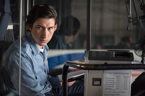 Adam Driver in PATERSON, Photo credit Mary Cybulski/Amazon Studios and Bleecker Street.