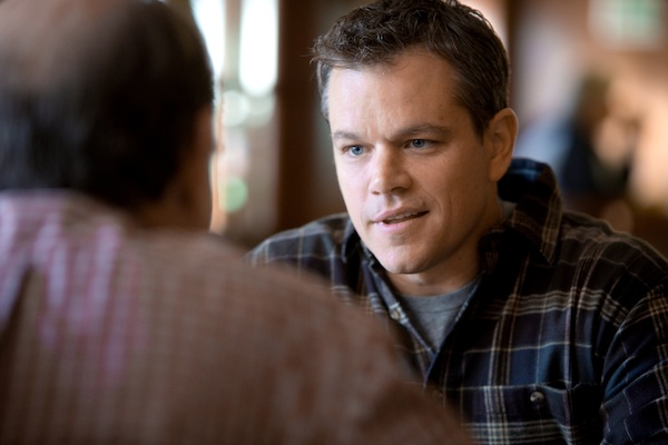 Matt Damon stars as Steve Butler in Gus Van Sant's contemporary drama PROMISED LAND, a Focus Features release.