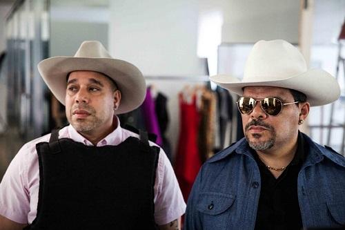 Luis Guzmán and Edgar Garcia in Puerto Ricans in Paris (2015).