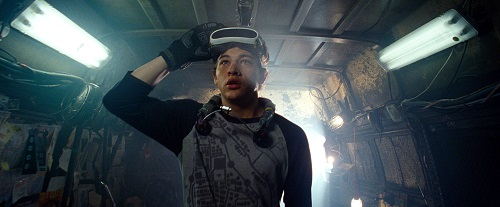 TYE SHERIDAN as Wade in Warner Bros. Pictures', Amblin Entertainment's and Village Roadshow Pictures' action adventure READY PLAYER ONE, a Warner Bros. Pictures release. Photo Credit: Courtesy of Warner Bros. Pictures. © 2018 WARNER BROS. ENTERTAINMENT INC., VILLAGE ROADSHOW FILMS (BVI) LIMITED AND RATPAC-DUNE ENTERTAINMENT.